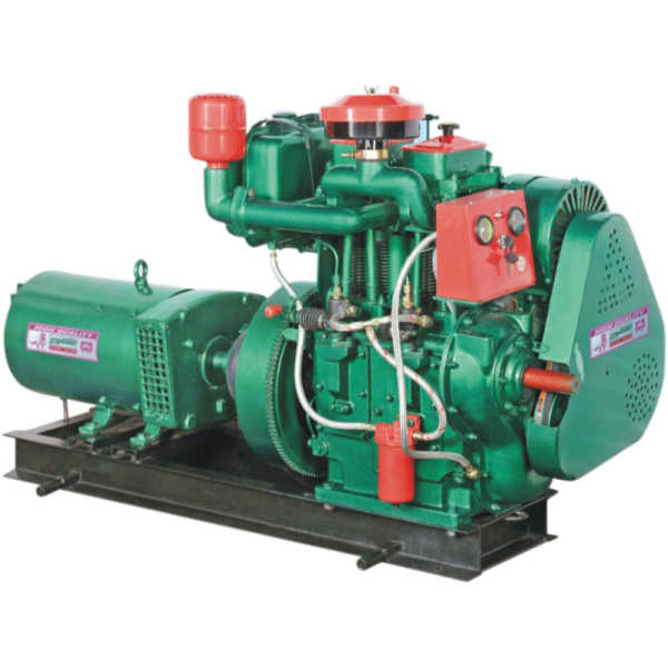 16 to 25 HP 2 Cylinder Diesel Engine 12.5 to 20 KVA